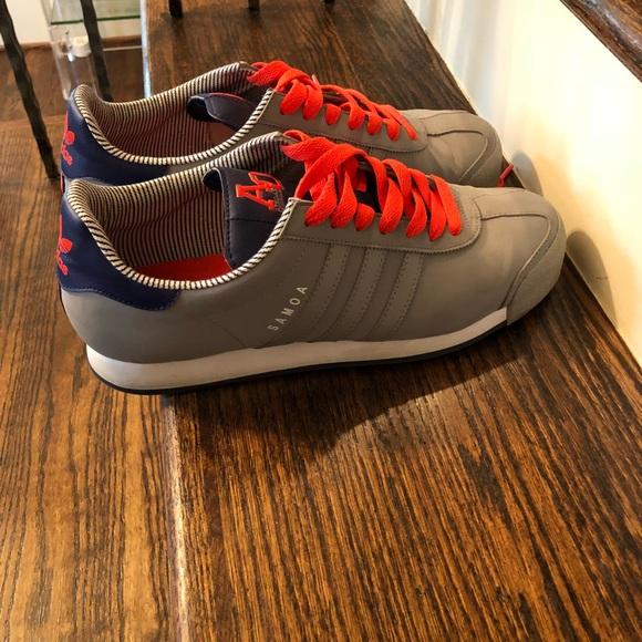 le adidas mens 115 originali samoa gray con blue poshmark